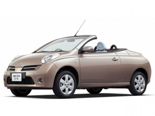 Groupe Nissan Micra C+C Descapotable